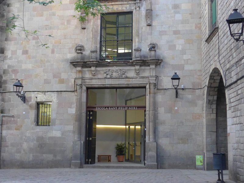 """Reforma del Vestíbulo y Puerta de Acceso de la """"Escola Sant Felip Neri"""""""